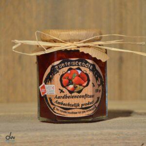 zoetemoendje aardbeienconfituur