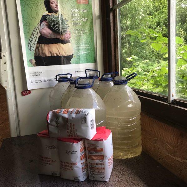 Wintervoeding voor de bijenvolken